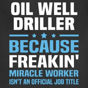 Oil Well Driller - Adjustable Apron