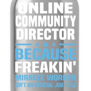 Online Community Director - Water Bottle