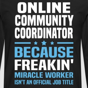 Online Community Coordinator - Men's Premium Long Sleeve T-Shirt