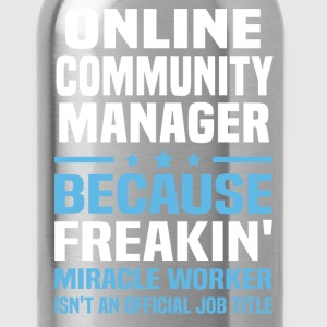 Online Community Manager - Water Bottle