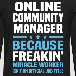 Online Community Manager - Men's Premium Long Sleeve T-Shirt