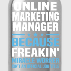 Online Marketing Manager - Water Bottle