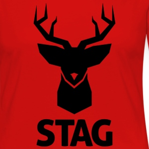stag T-Shirts - Women's Premium Long Sleeve T-Shirt