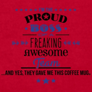 Freaking Awesome Team - Boss Edition Mugs & Drinkware - Men's T-Shirt by American Apparel