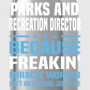 Parks and Recreation Director - Water Bottle