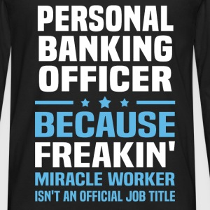 Personal Banking Officer - Men's Premium Long Sleeve T-Shirt