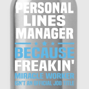 Personal Lines Manager - Water Bottle