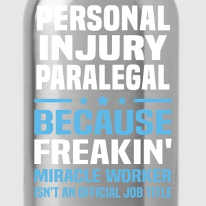Personal Injury Paralegal - Water Bottle