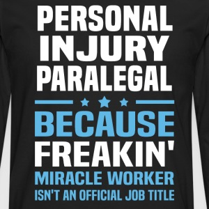 Personal Injury Paralegal - Men's Premium Long Sleeve T-Shirt