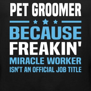 Pet Groomer - Men's Premium Tank