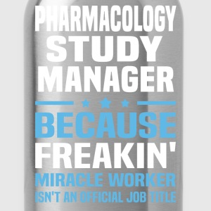 Pharmacology Study Manager - Water Bottle