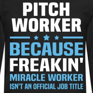 Pitch Worker - Men's Premium Long Sleeve T-Shirt