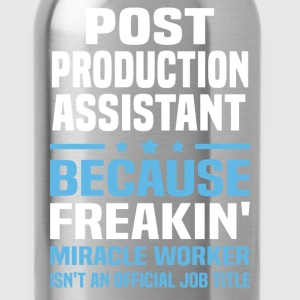 Post Production Assistant - Water Bottle