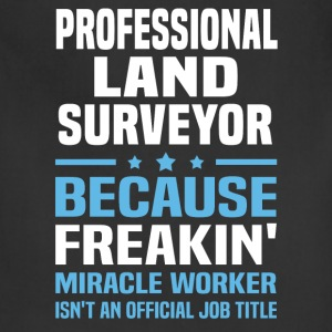 Professional Land Surveyor - Adjustable Apron