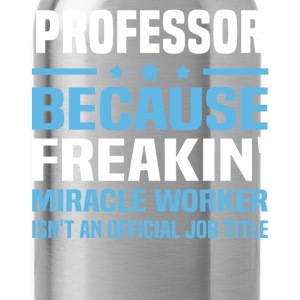 Professor - Water Bottle