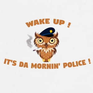 morning police mug - Men's Premium T-Shirt