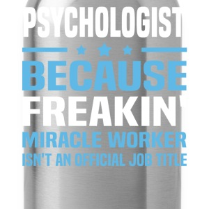 Psychologist - Water Bottle