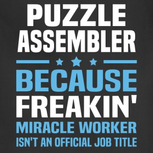 Puzzle Assembler - Adjustable Apron