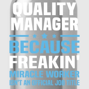 Quality Manager - Water Bottle