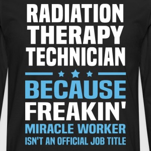 Radiation Therapy Technician - Men's Premium Long Sleeve T-Shirt