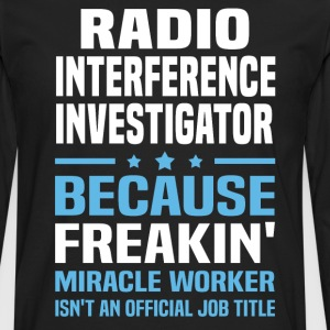 Radio Interference Investigator - Men's Premium Long Sleeve T-Shirt
