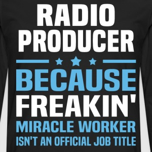 Radio Producer - Men's Premium Long Sleeve T-Shirt