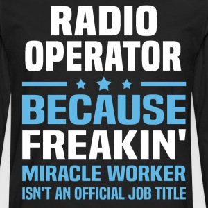 Radio Operator - Men's Premium Long Sleeve T-Shirt