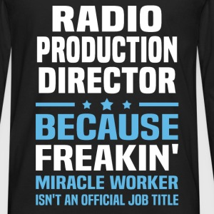Radio Production Director - Men's Premium Long Sleeve T-Shirt