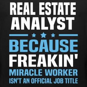 Real Estate Analyst - Men's Premium Tank