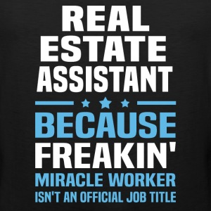 Real Estate Assistant - Men's Premium Tank