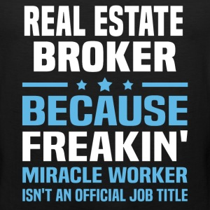 Real Estate Broker - Men's Premium Tank