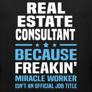 Real Estate Consultant - Men's Premium Tank