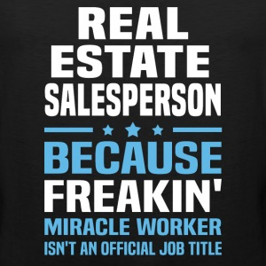 Real Estate Salesperson - Men's Premium Tank