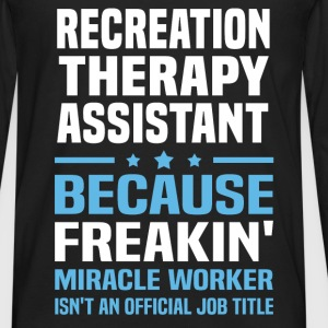Recreation Therapy Assistant - Men's Premium Long Sleeve T-Shirt