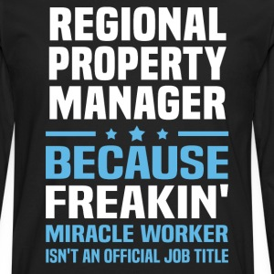 Regional Property Manager - Men's Premium Long Sleeve T-Shirt
