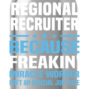 Regional Recruiter - Water Bottle