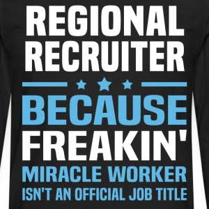 Regional Recruiter - Men's Premium Long Sleeve T-Shirt
