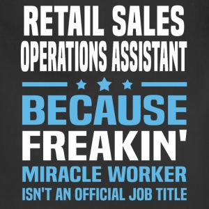 Retail Sales Operations Assistant - Adjustable Apron