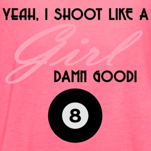 Shoot like a Girl - Women's Flowy Tank Top by Bella