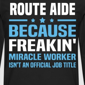 Route Aide - Men's Premium Long Sleeve T-Shirt