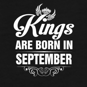 Kings Are Born In September Tshirt Mugs & Drinkware - Men's Premium T-Shirt