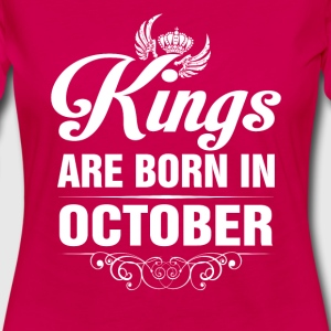 Kings Are Born In October Tshirt T-Shirts - Women's Premium Long Sleeve T-Shirt