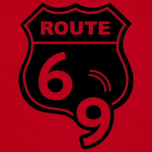 Route 66 Hell Highway 69 Bags & backpacks - Women's V-Neck T-Shirt