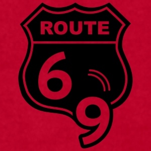 Route 66 Hell Highway 69 Mugs & Drinkware - Men's T-Shirt by American Apparel