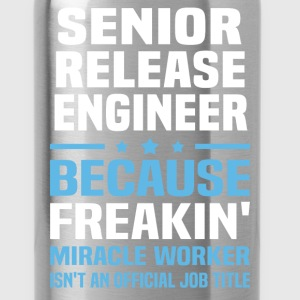 Senior Release Engineer T-Shirts - Water Bottle