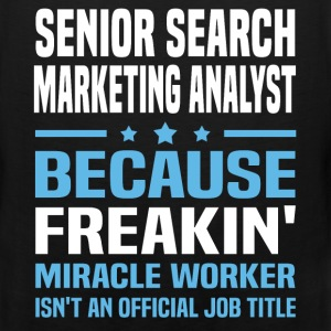 Senior Search Marketing Analyst T-Shirts - Men's Premium Tank