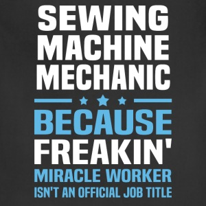 Sewing Machine Mechanic T-Shirts - Adjustable Apron