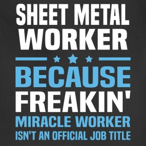 Sheet Metal Worker T-Shirts - Adjustable Apron