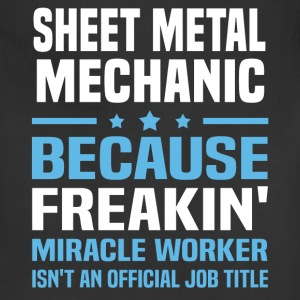 Sheet Metal Mechanic T-Shirts - Adjustable Apron