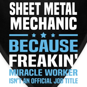 Sheet Metal Mechanic T-Shirts - Bandana